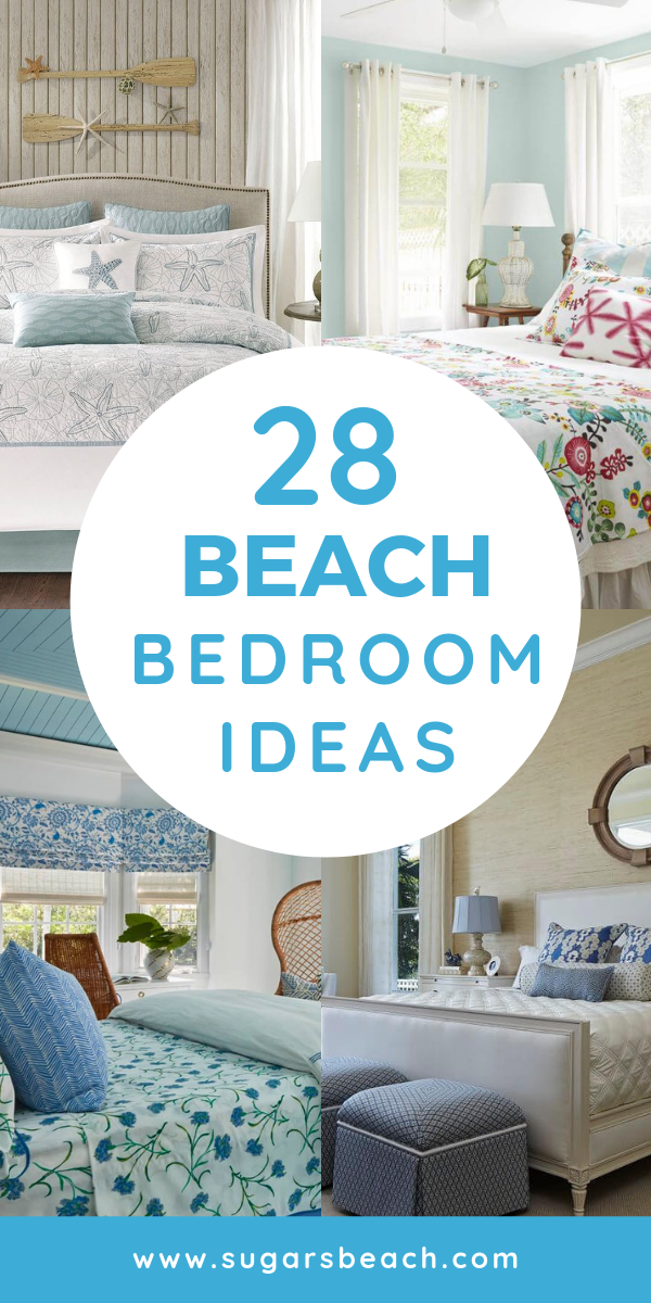 Beach Themed Bedrooms Ideas