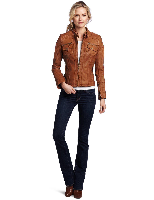 Leather jacket women - Women Leather Jacket