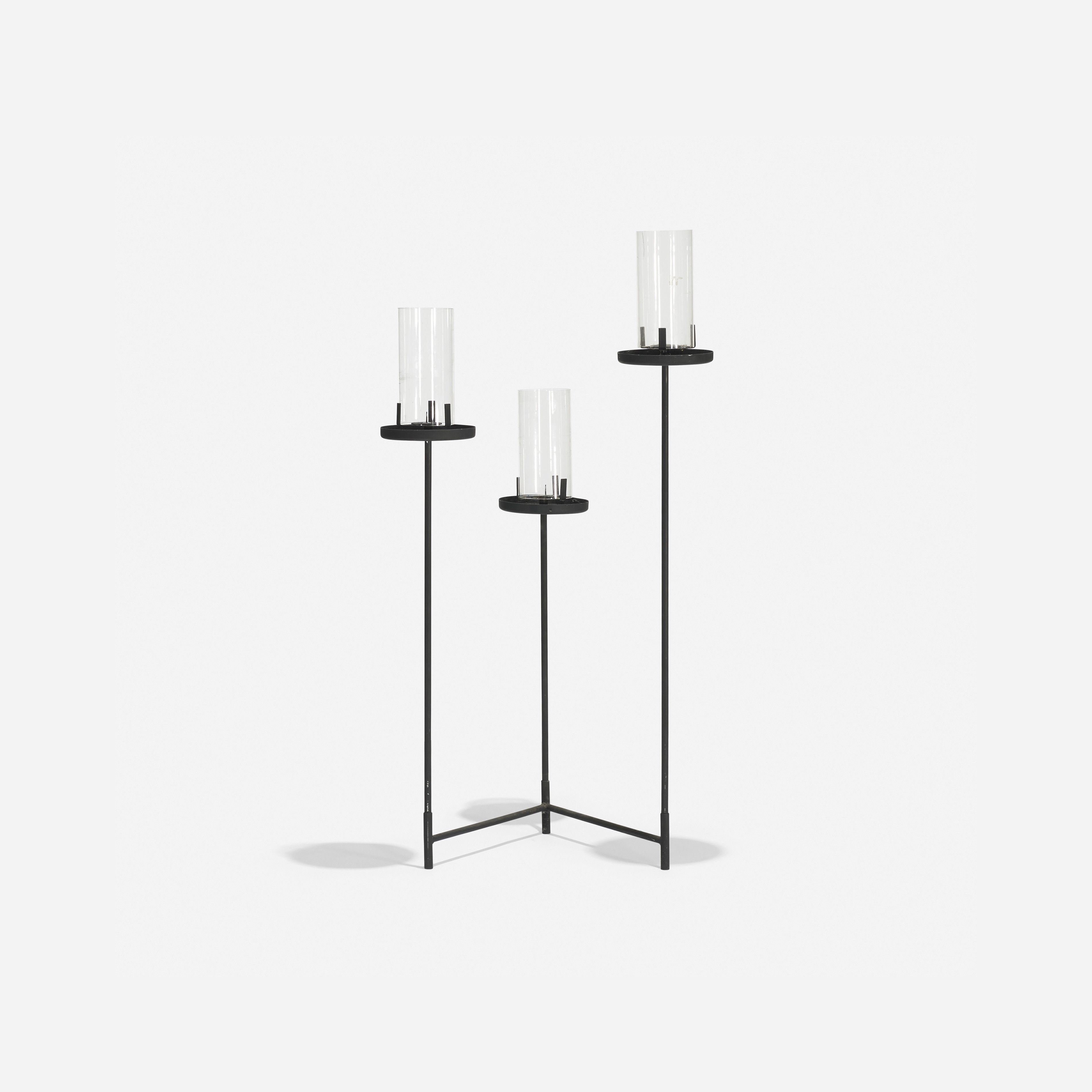 Candelabra by hendrick van keppel and taylor green candle holders