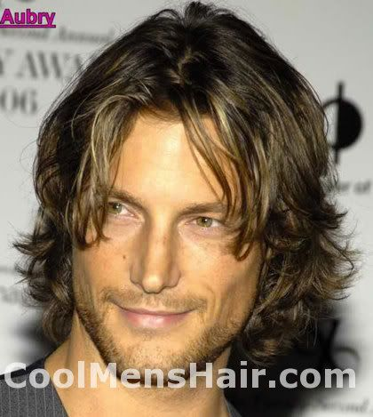 Gabriel Aubry Wavy Hairstyles French Canadian Model Guy Haircuts Long Long Hair Styles Men Boys Haircuts