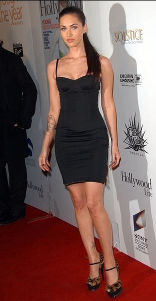 Megan Fox Megan Fox Black Dress Megan Fox Style Little Black Dress