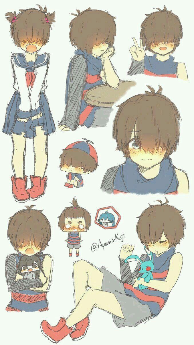 Balloon Boy Fnafhs Anime Anime Boy Base Anime Child
