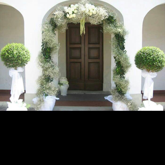 Portone Chiesa Addobbi Floreali Matrimonio Matrimonio Viola Matrimonio