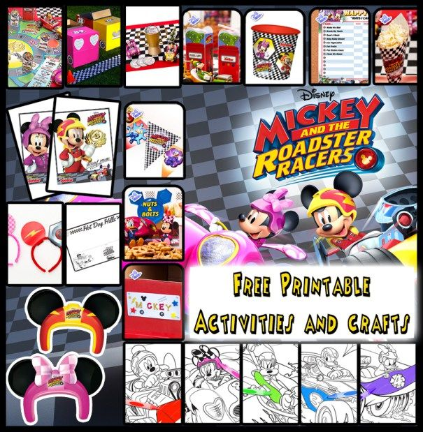 Mickey And The Roadster Racers Start Your Engines Mickey Mouse
