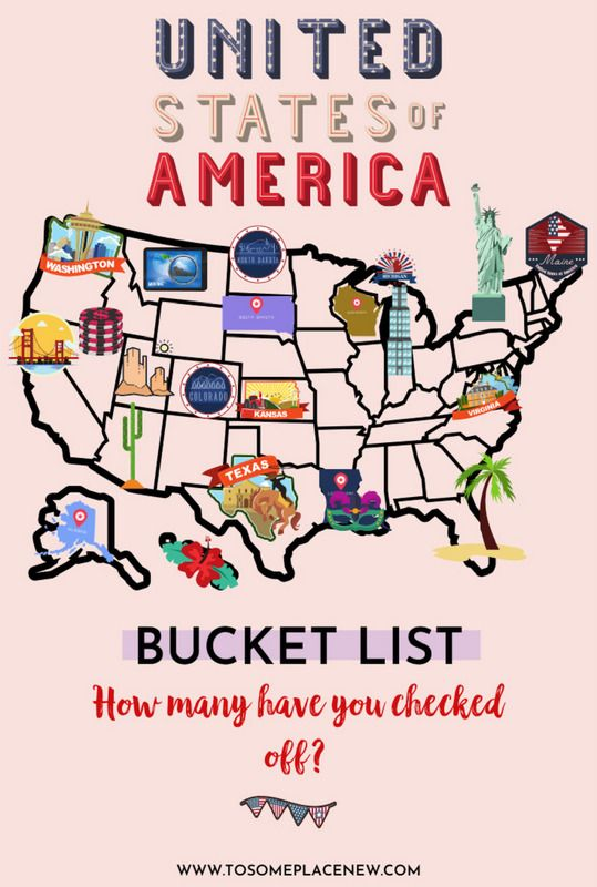 USA destinations bucket lists | USA map with attractions | Top 10 - 30 Places to visit in USA | best places to visit in the US | Vacation destinations in United States from national parks to big cities  #usa