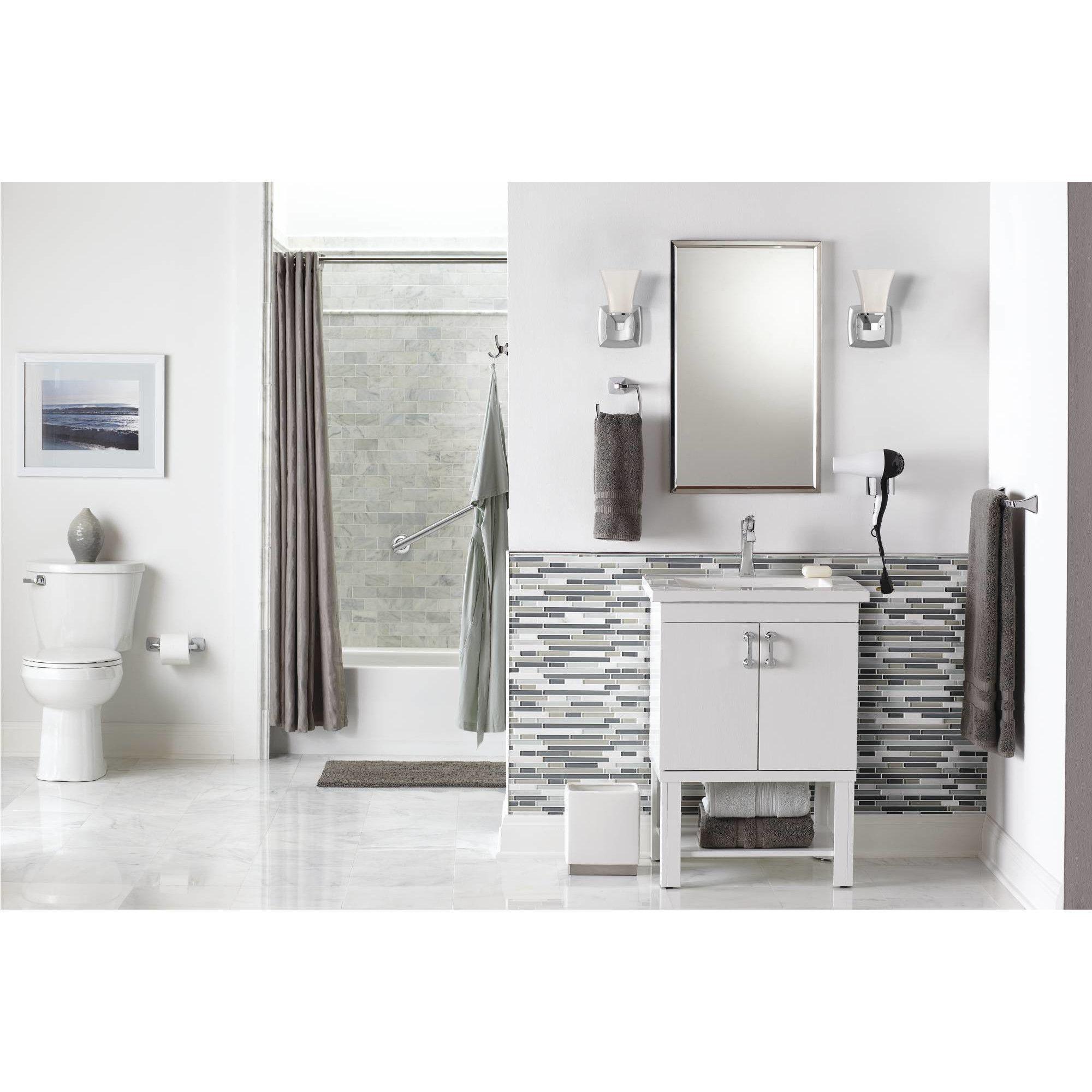 Moen Voss 1 Light Bath Vanity Light