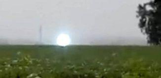 ¿OVNI o rayo globular? Expertos desconcertados sobre la misteriosa esfera…
