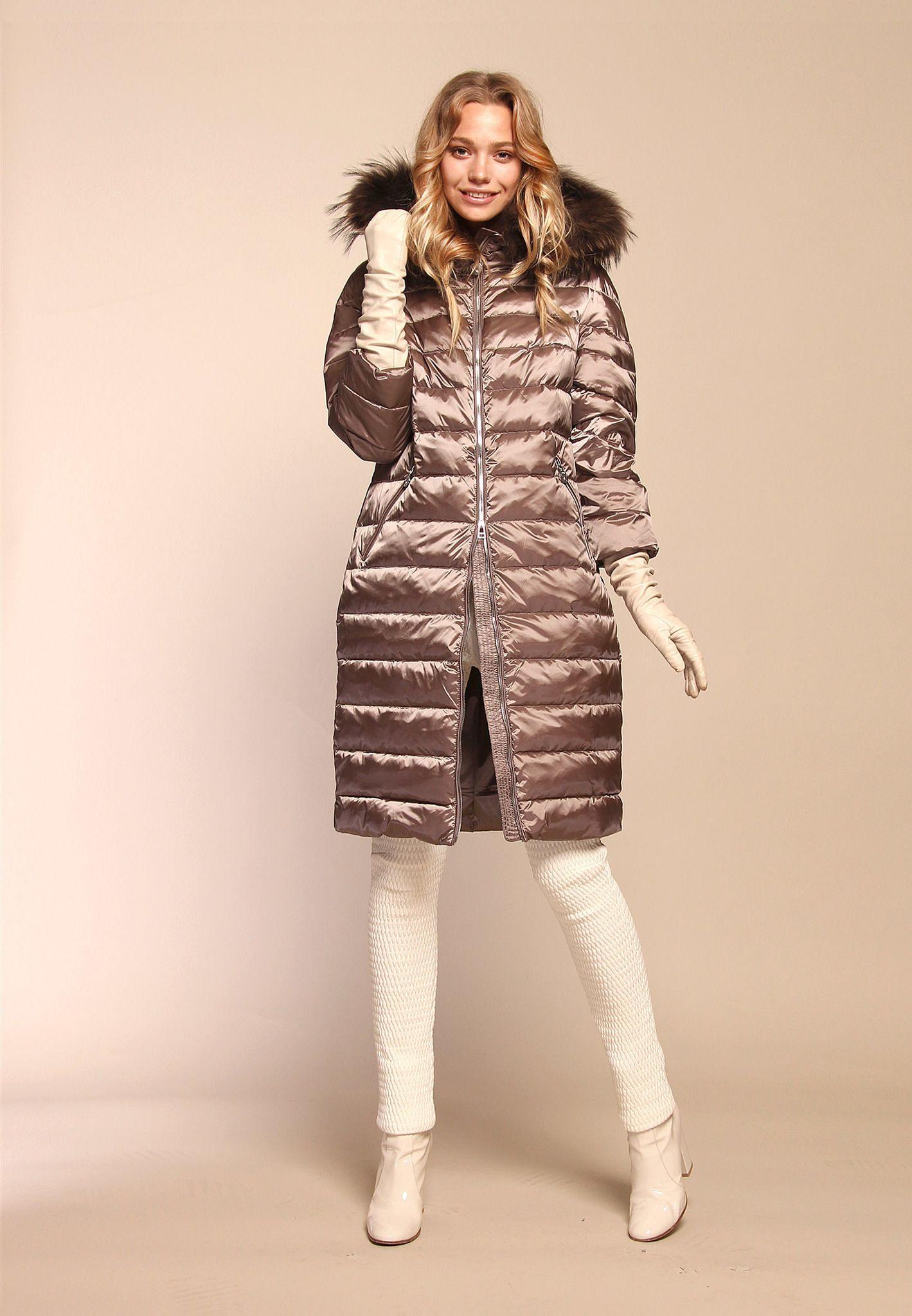 56fe660fc72 nice Стильные женские зимние пальто на синтепоне с капюшоном — Обзор  актуальных моделей зимы 2017-2018 года