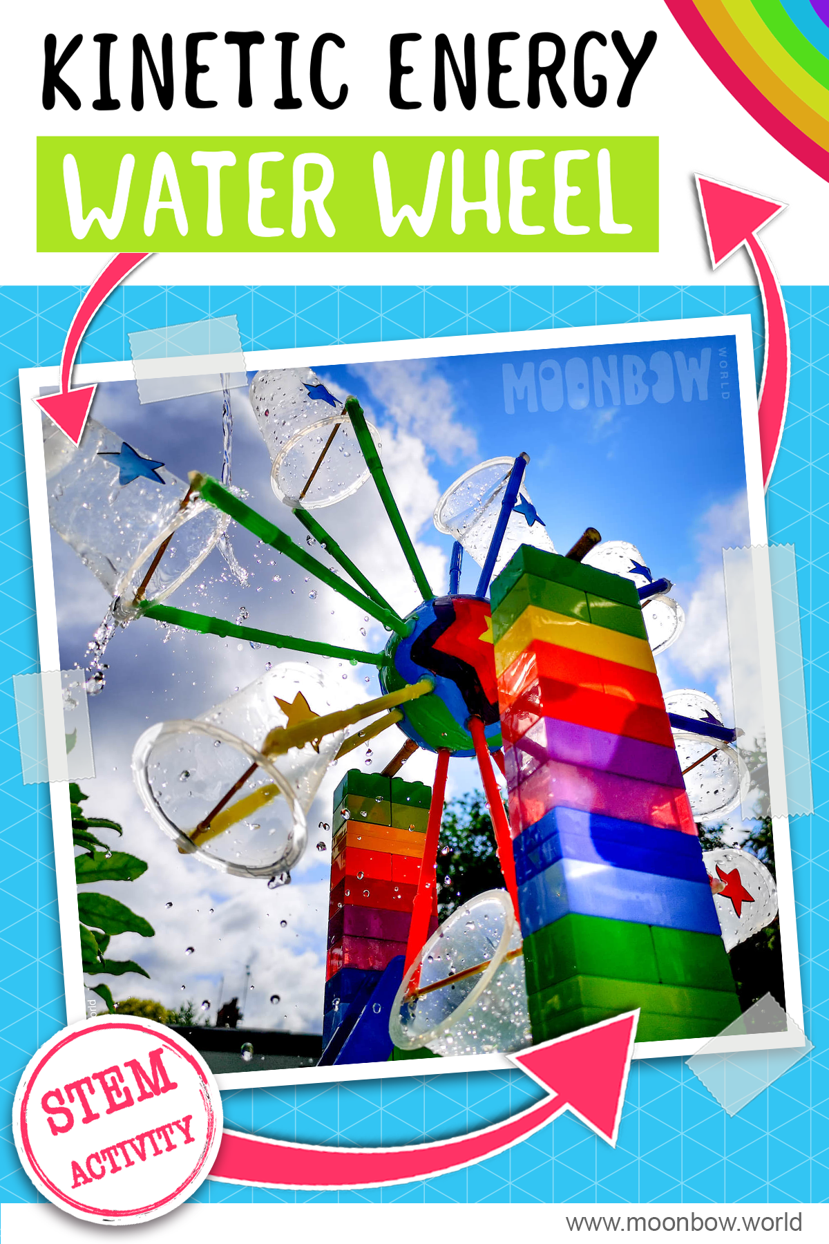 Water Wheel Science Activity In