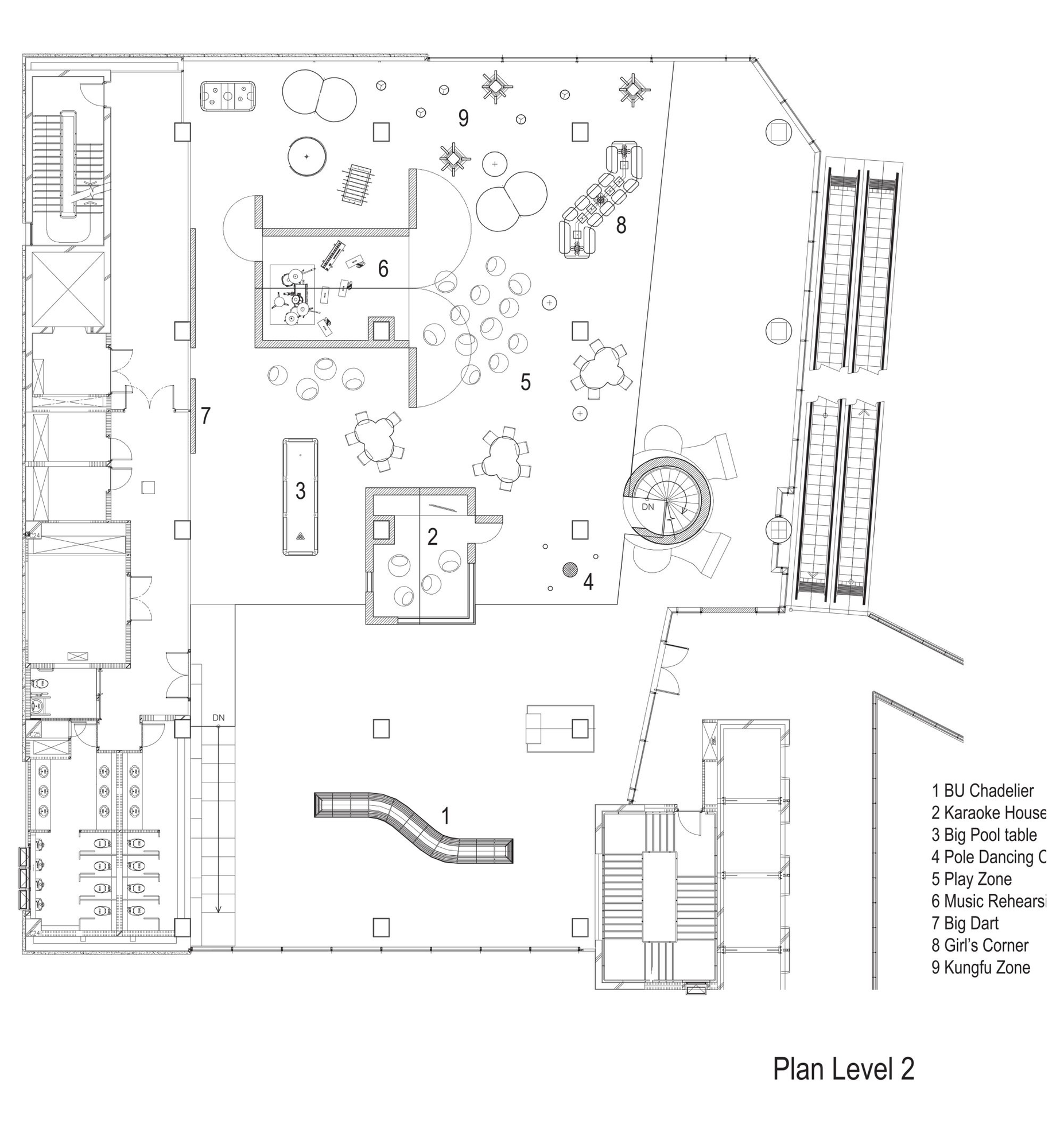 Hotel Lounge Floor Plan