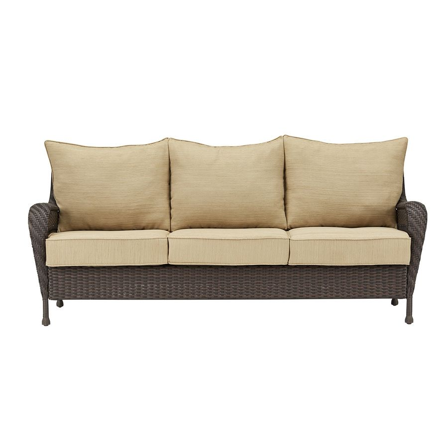 shop garden treasures glenlee cushion sofa at lowescom