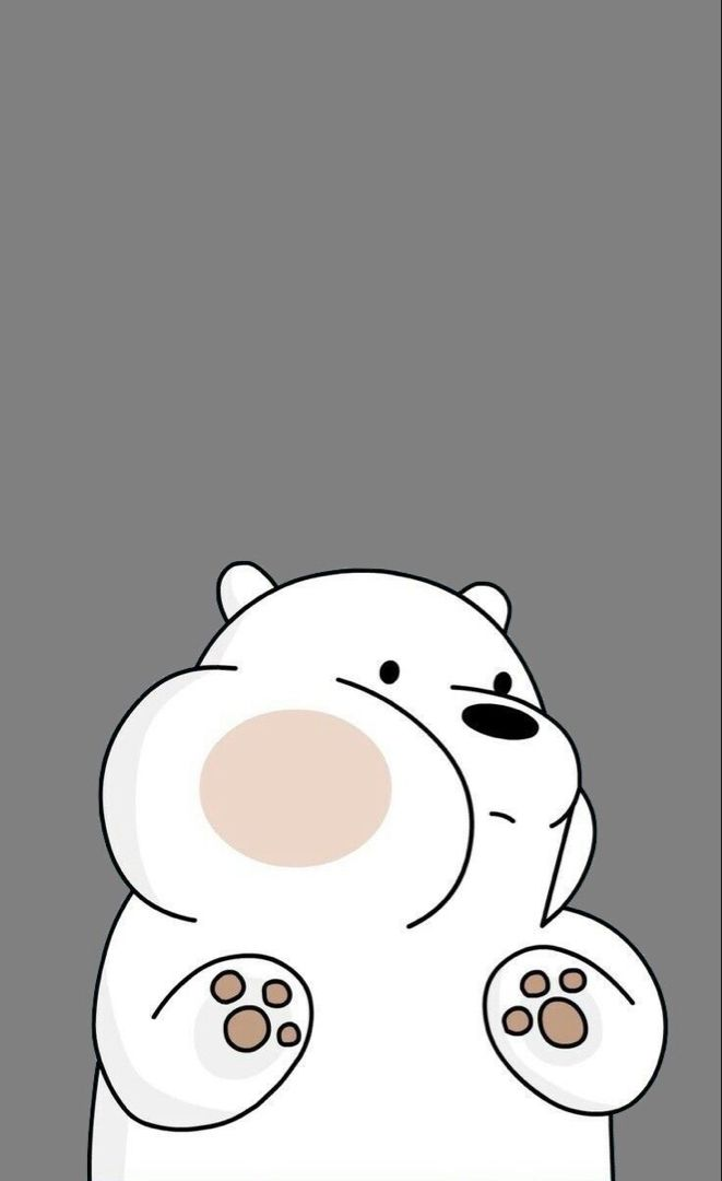 Cute Hd Phone Wallpaper Bear Wallpaper We Bare Bears Wallpapers Cute Cartoon Wallpapers