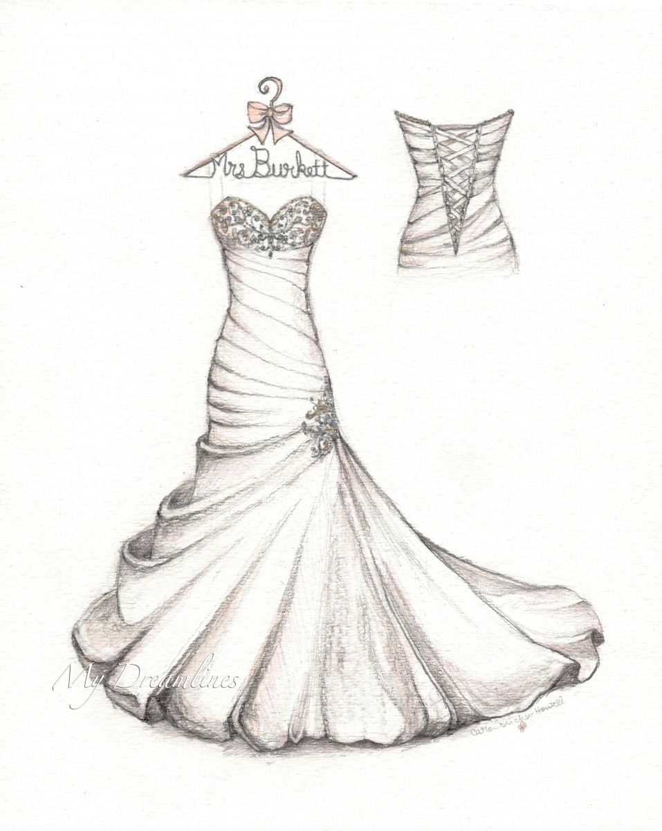 Wedding Dress Sketch Dress Design Drawing Dress Design Sketches Fashion Design Sketches