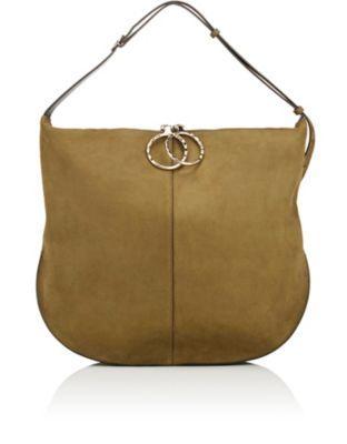 9c6ffecd33 NINA RICCI Kuti Large Hobo Bag.  ninaricci  bags  shoulder bags  suede  hobo
