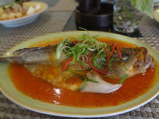 Malay Food By Chef Yasril Ikan Gerapu Steam Saus Nyonya Makanan Resep Masakan Resep Makanan