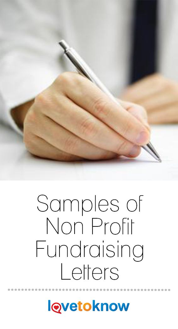 Samples of Non Profit Fundraising Letters Other interests