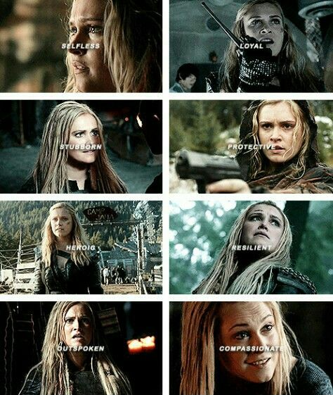 Clarke Griffin + traits