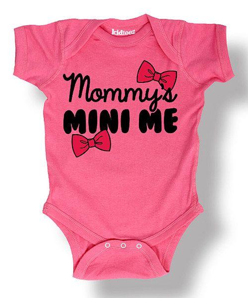 Mommy/'s Mini Baby Bodysuit