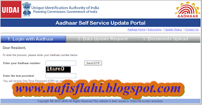 Know How To Change Your Address On Aadhar Card Online Nafisflahi Aadhar Card How To Change Name Cards