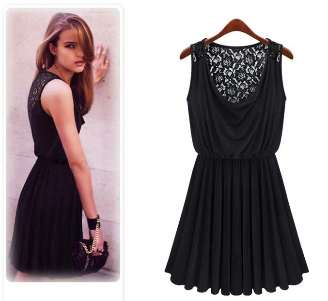 2013 new Promotions hot trendy cozy fashion women clothes casual sexy dress retro lace sultry piles collar http://zzkko.com/n304874 $9.99 USD