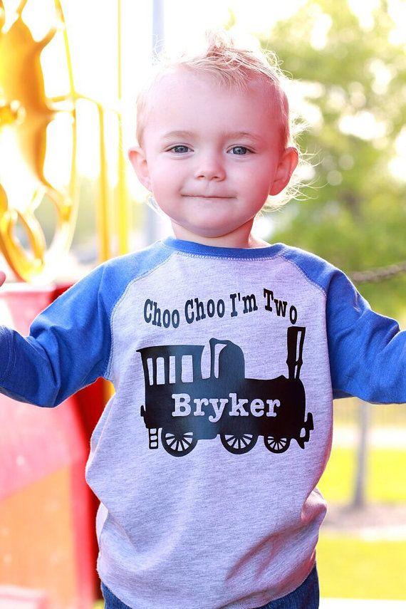 2nd Birthday Shirt Choo Choo Im 2 Train Shirt Train T Shirt