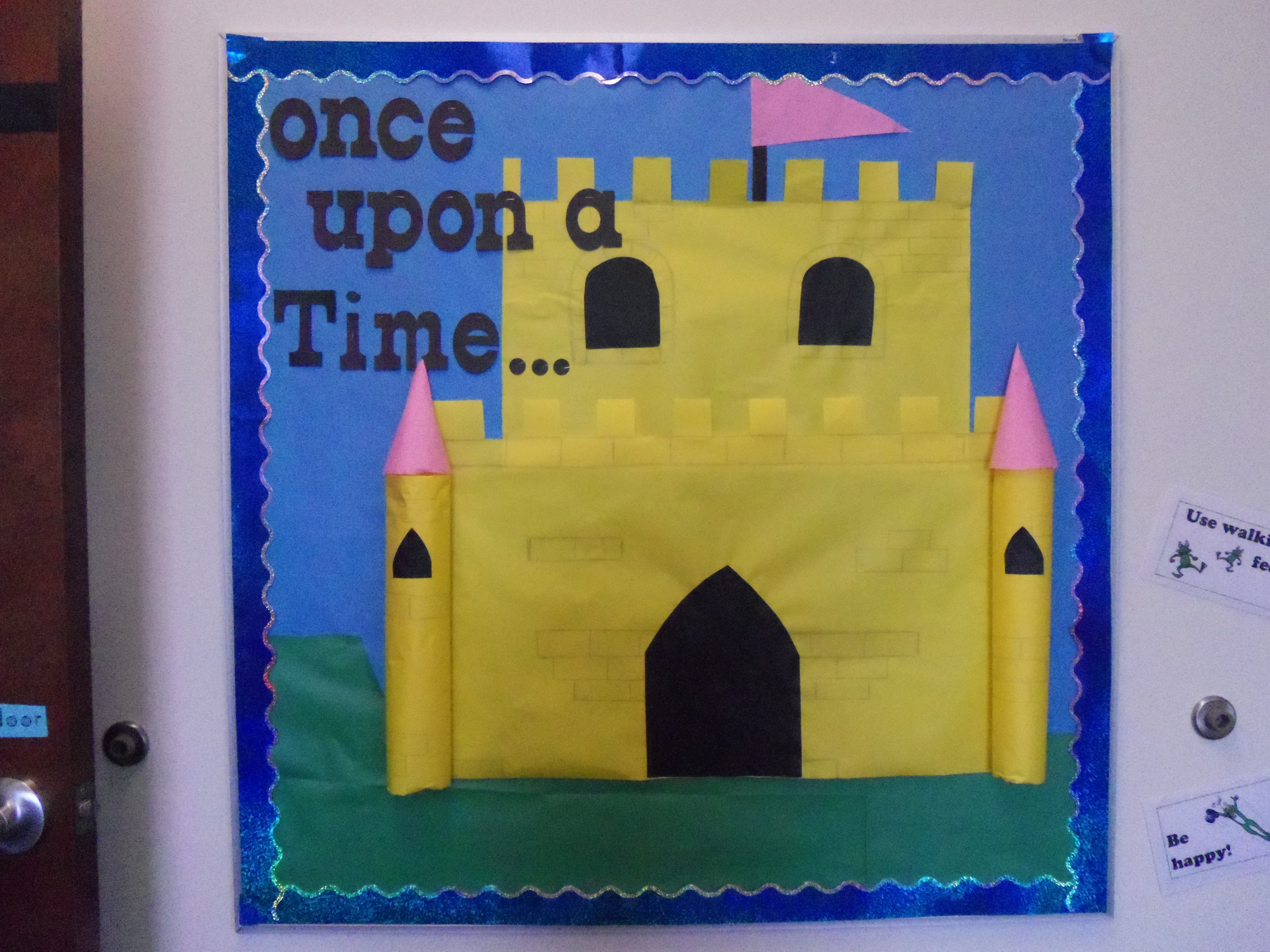 fairy tale castle bulletin board! | bulletin board and classroom