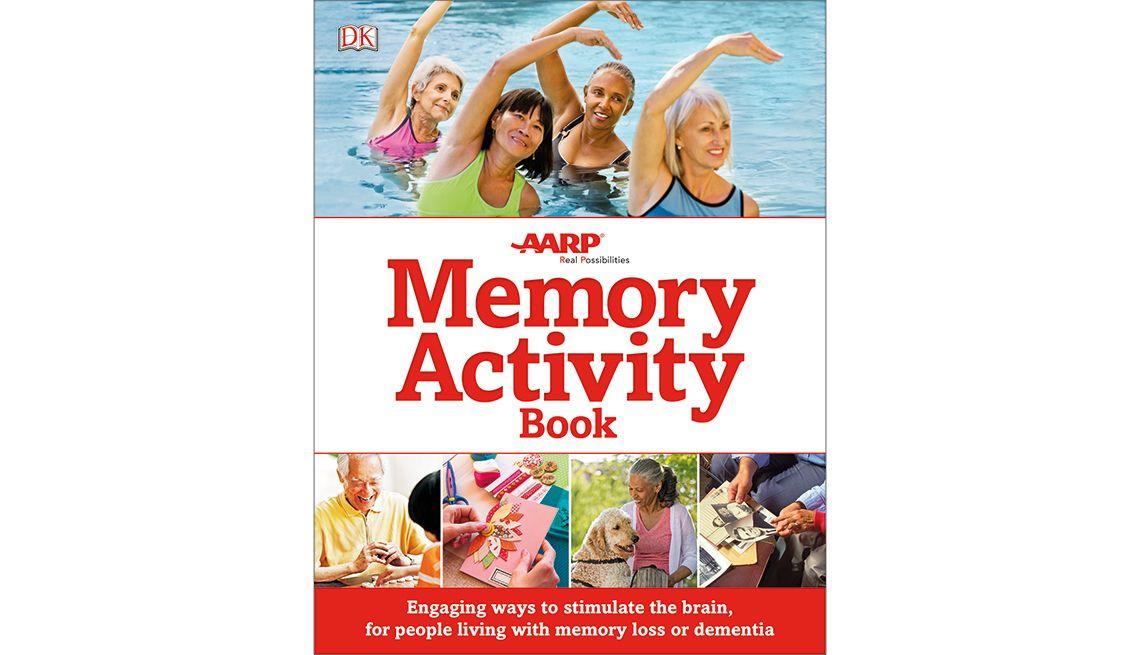 Memory Activity Book for Dementia, Alzheimer's Book