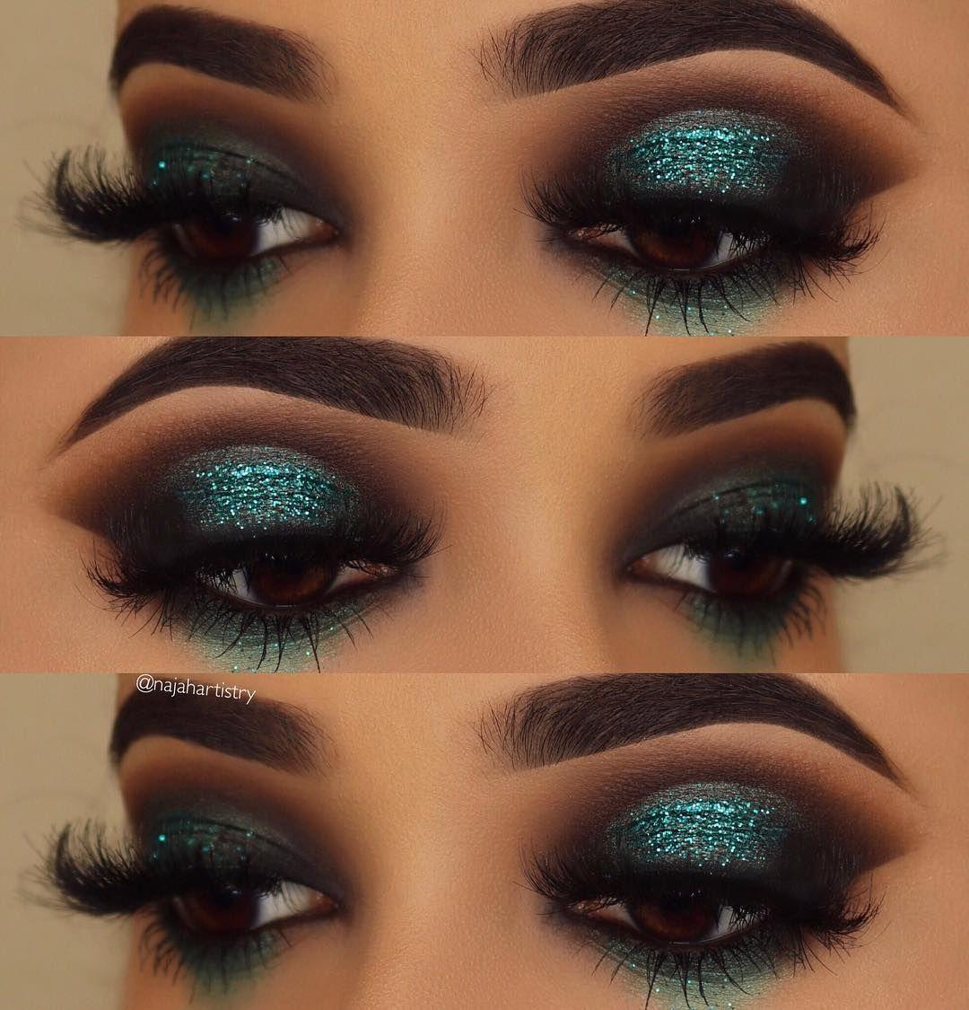 25 Easy Glitter Eye MakeUp Ideas makeup makeupideas