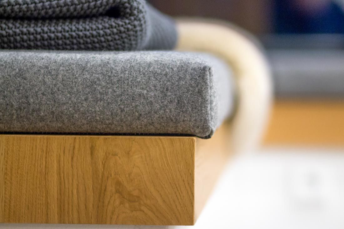 Kuche Mineralwerkstoff Eiche Sitzlounge Eiche Lounge Sitzen