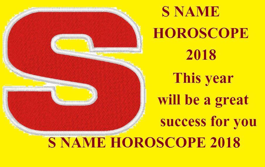 S NAME RASHIFAL IN HINDI   Name Horoscope 2018   Horoscope
