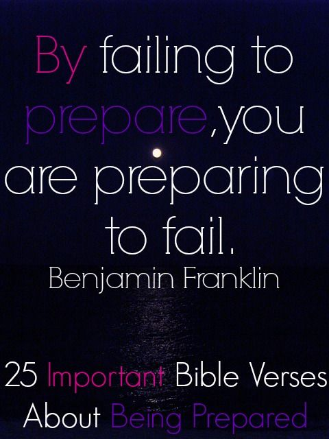Quotes About Being Prepared Being Prepared | Bible Verses | Bible verses, Bible, Verses Quotes About Being Prepared