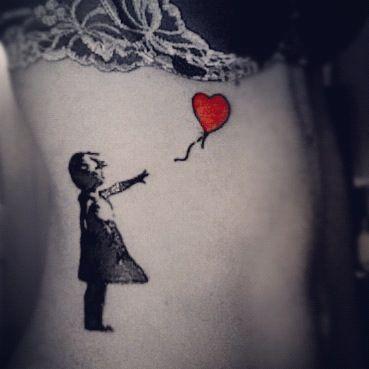 Pin De Katy Kennedy En Inked Banksy Tatuajes Globos