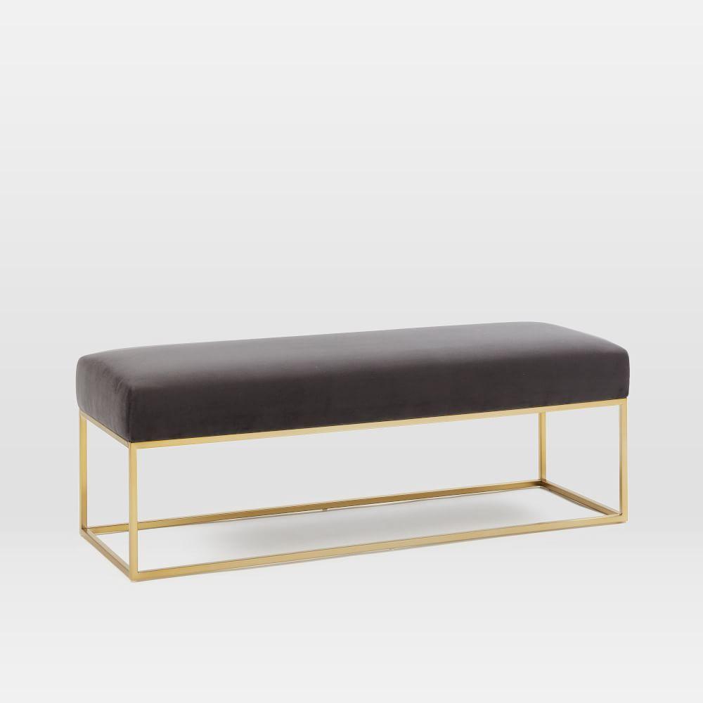 Box Frame Upholstered Bench Upholstered Bench Bench Furniture Furniture