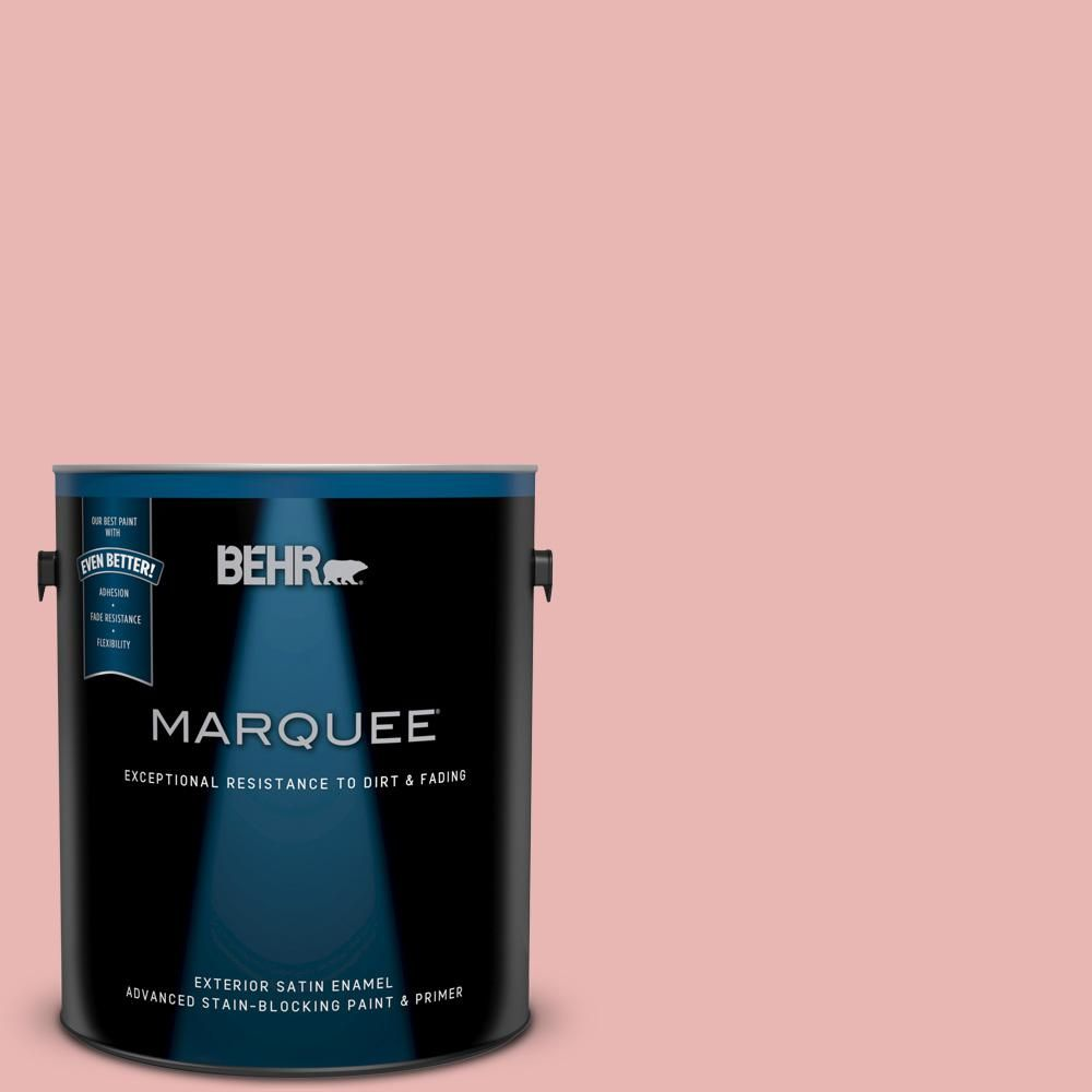 Behr Marquee 1 Gal Mq4 04 Noble Blush Satin Enamel Exterior