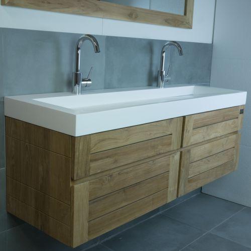 Djati badkamer meubel - Ibiza 8 | Bathroom ideas | Pinterest ...
