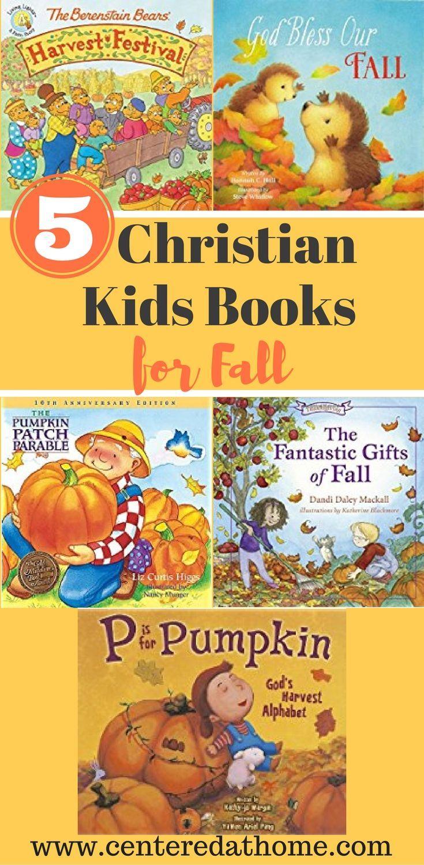 5 Christian Kids Books for Fall Christian children's