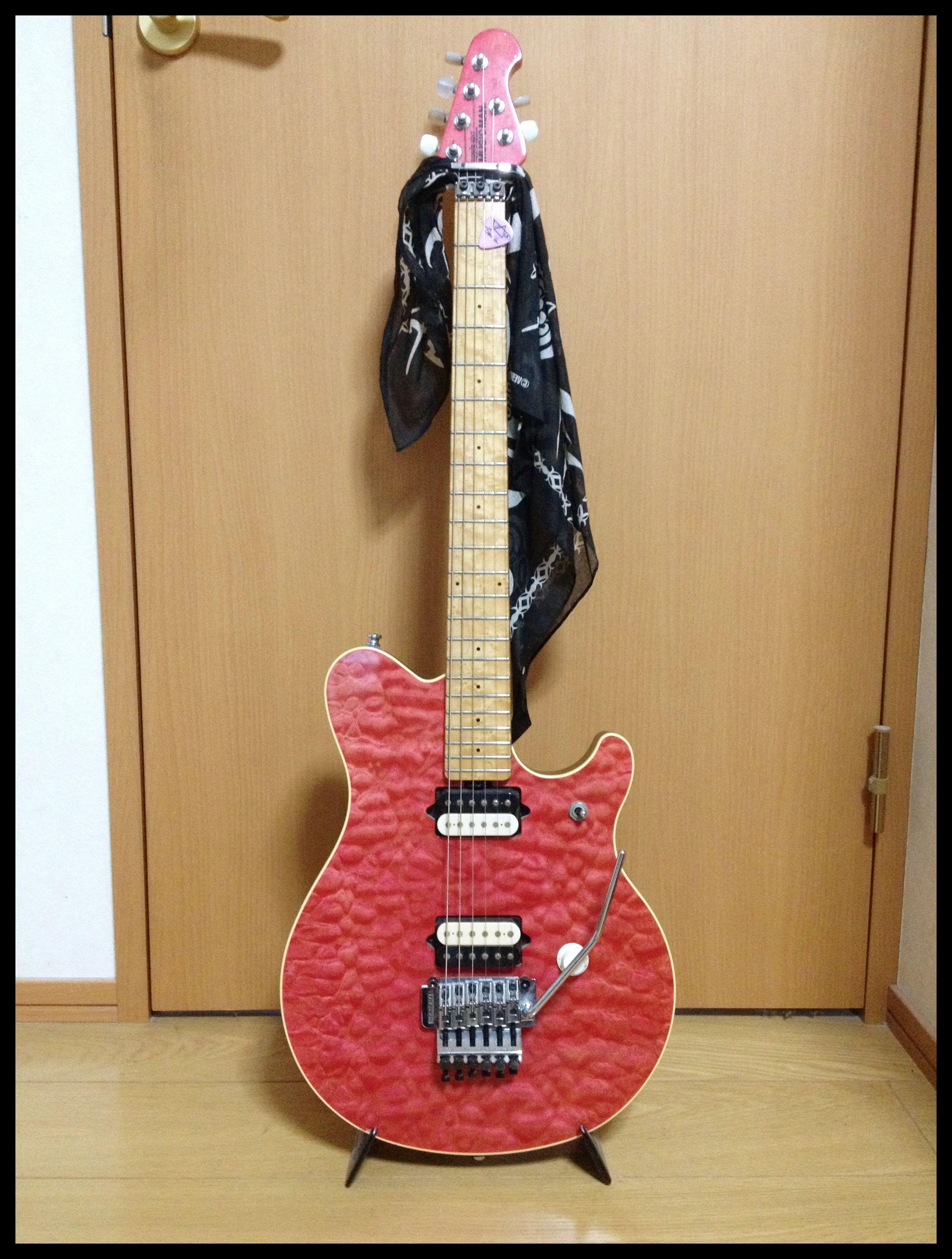 Music Man Evh Wolfgang Wiring Diagram Electrical Diagrams Pickup Musicman Axis Ex Pink Guitars Pinterest Guitar Famous