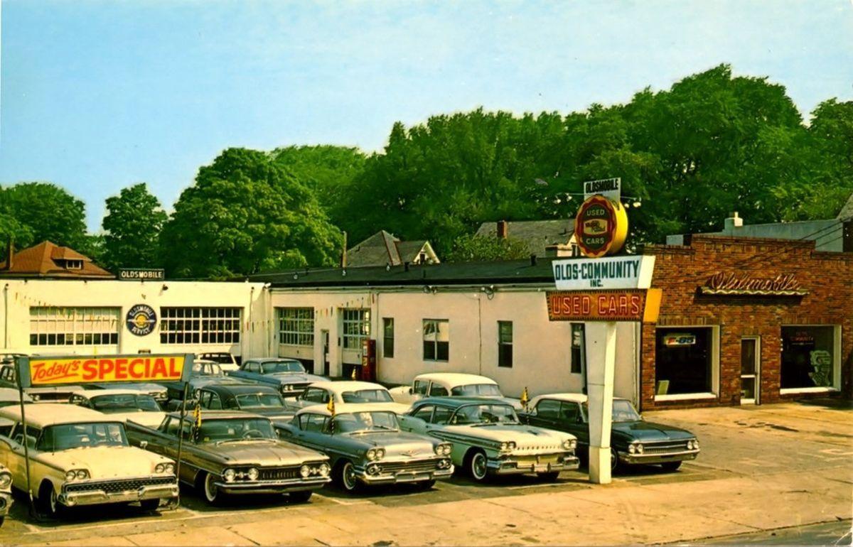 60's cars on the street — prova275 Used car corner… circa