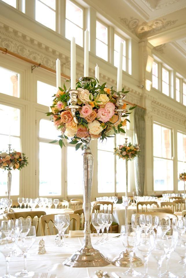 Floral style for candelabra