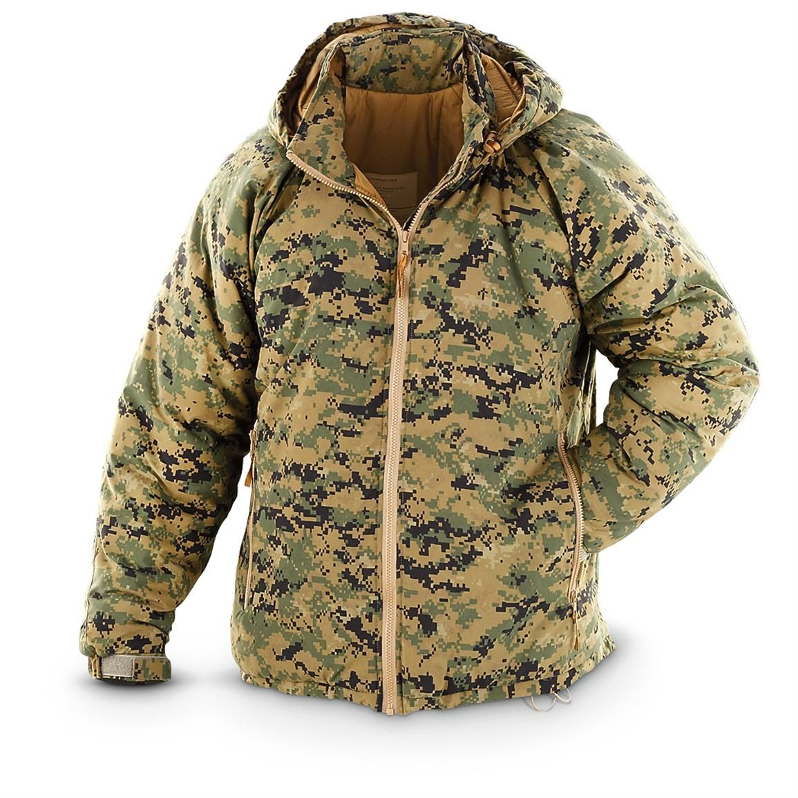 New U.S. Military Surplus Marpat Level 7 ECW Hooded Jacket ...