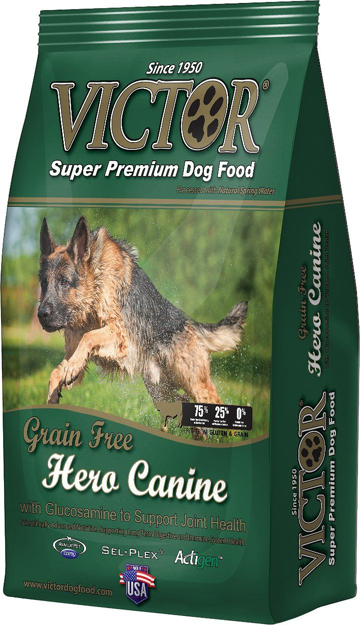 Victor Hero Grain Free Dry Dog Food 30 Lb Bag Chewy Com Grain