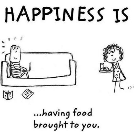 I make myself happy