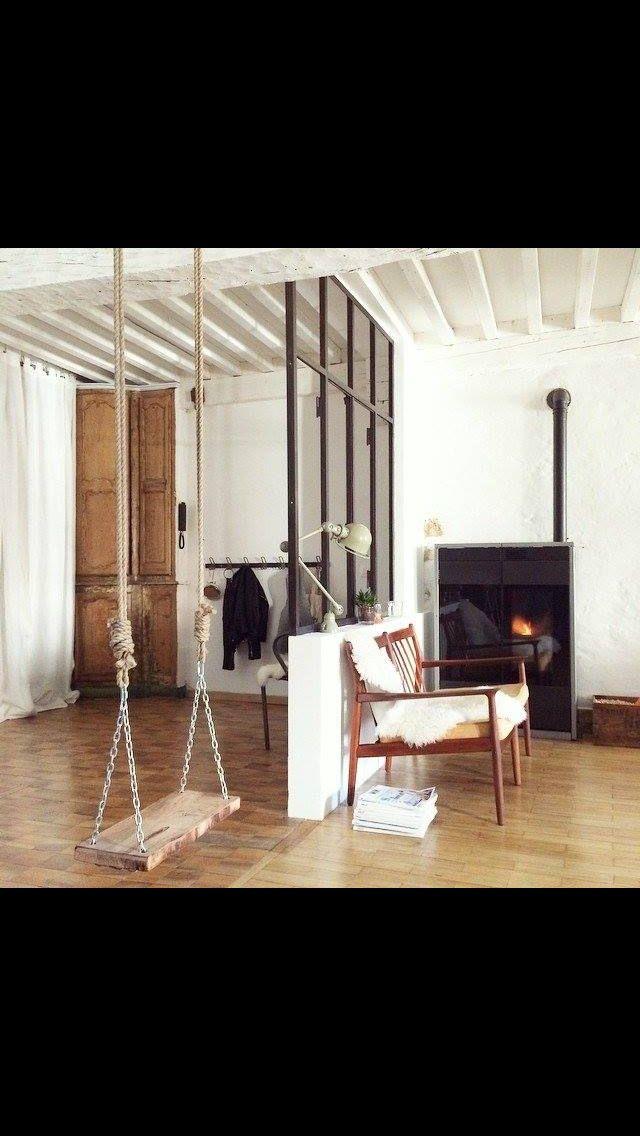 Balançoire Inspirations Pinterest - plan maison avec appartement
