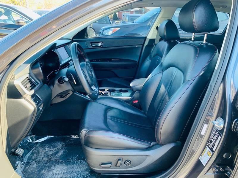 2018 Kia Optima Sx Turbo 4dr Sedan In 2020 Kia Optima Car Seats Car