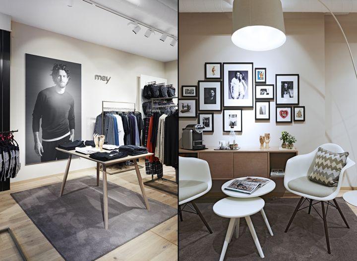 Innenarchitekt Bielefeld mey bodywear store by cri cronauer romani innenarchitekten