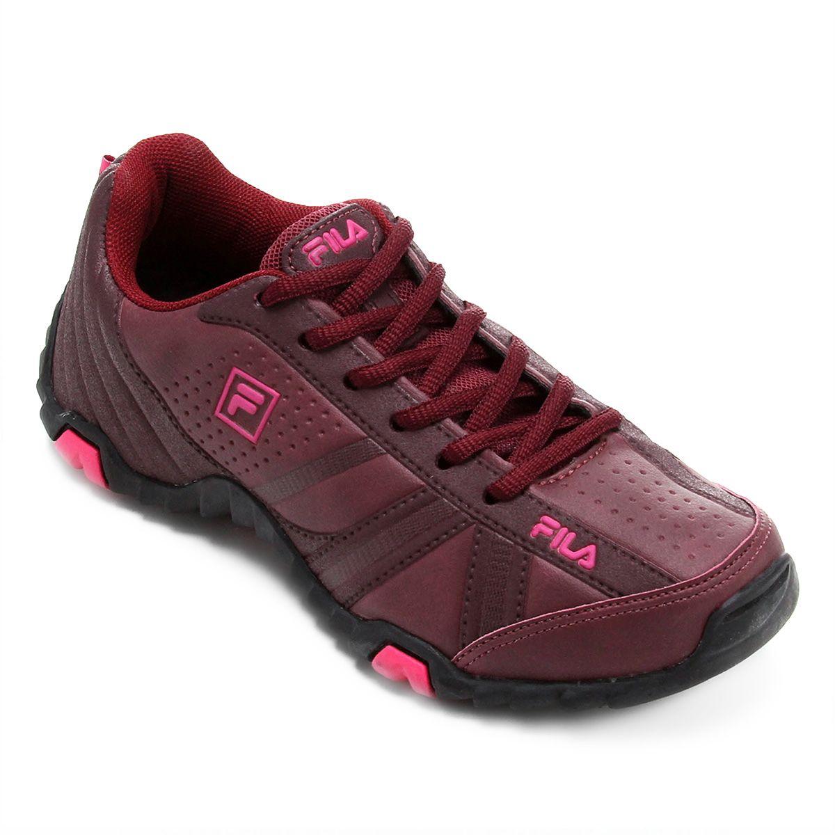Tênis Fila Slant Force Marinho e Pink  6dc6738ee661f