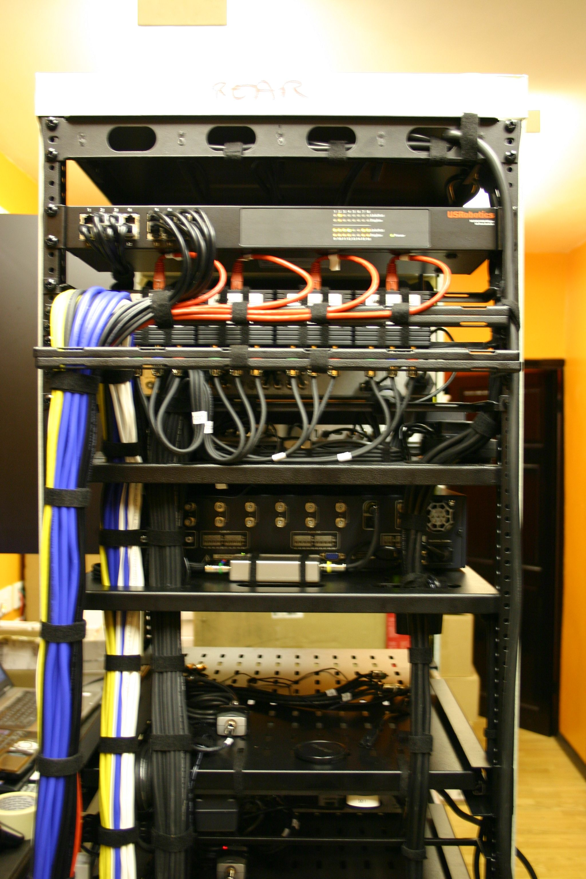 av racks showcase hot racks in 2019 cable management cable structured wiring cabinet for network and a v [ 2048 x 3072 Pixel ]