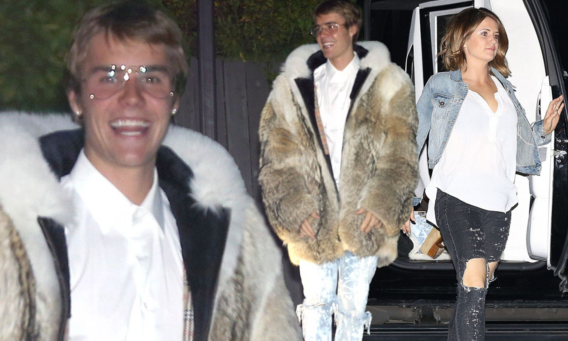 Making his way into a local diner, Bieber inevitably turned heads courtesy of his extravagant choice of attire.