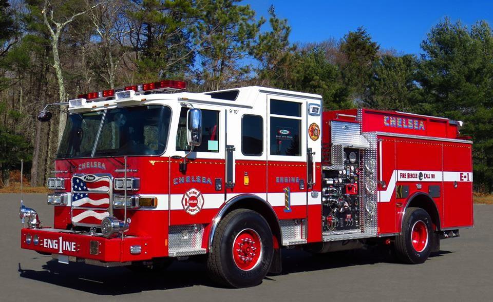Chelsea Ma Fd Engine 1 2015 Pierce Arrow Xt Pumper Fire