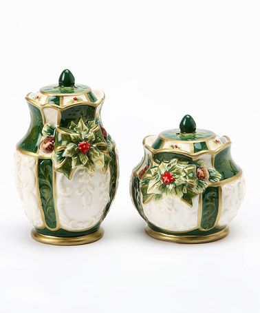 Loving this Holly Salt & Pepper Shakers on #zulily! #zulilyfinds   Cosmos gifts, Salt and pepper ...